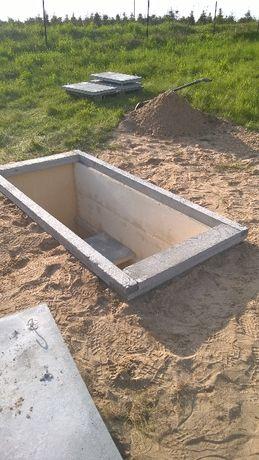 Grobowiec betonowy