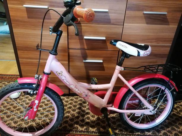 Rower dziewczęcy 16 cali