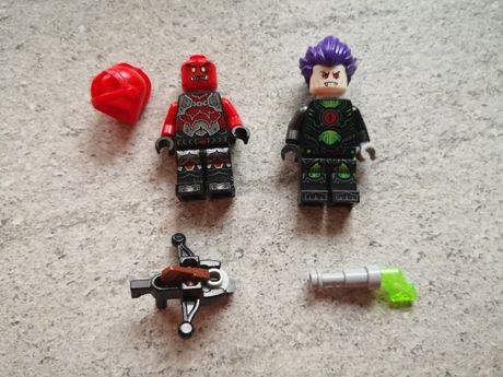 Lego Nexo Knights figurki Lawowy Wojownik i Wirus