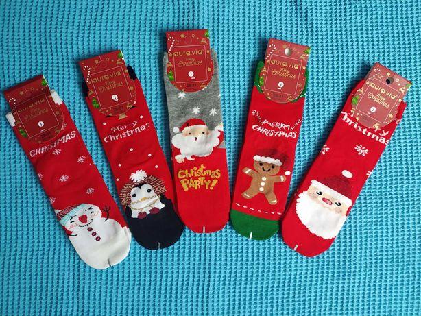 Skarpetki świąteczne rozmiar 28-31