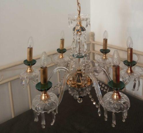 2 candeeiros lustres cristal Royal rock