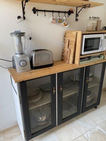 Armario cozinha prateleiras
