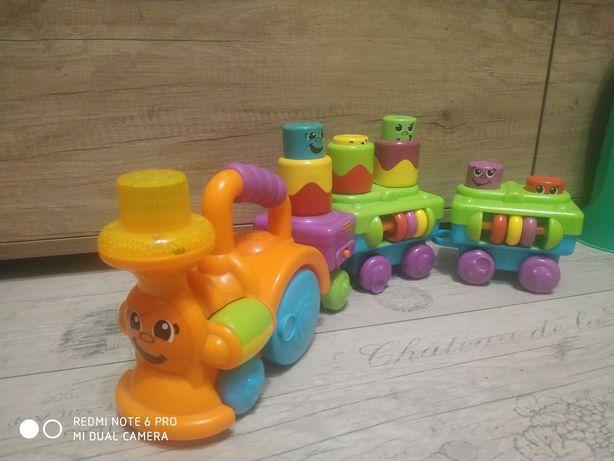 Музична іграшка Fisher-Price Веселый паровозик с кубиками