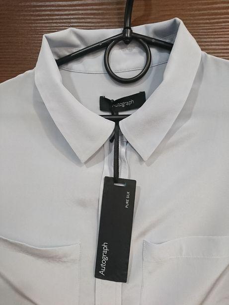 Koszula z jedwabiu XS