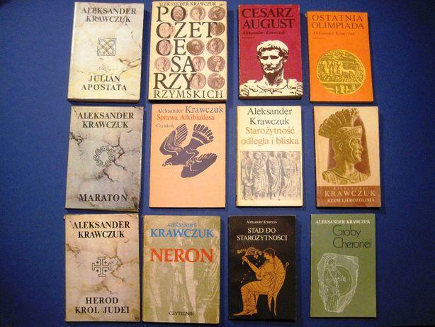Historia starożytności: Rzym, Grecja, Jerozolima.. Aleksander Krawczuk