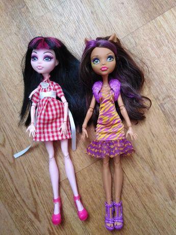 Куклы Монсиер Хай, Monster High, Дракулаура, Клодин, Кукла Волк Вампир