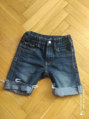 Spodenki jeansowe chlopiece