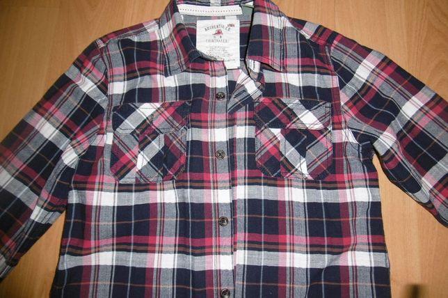 bluzka koszulowa Zara rozm.128