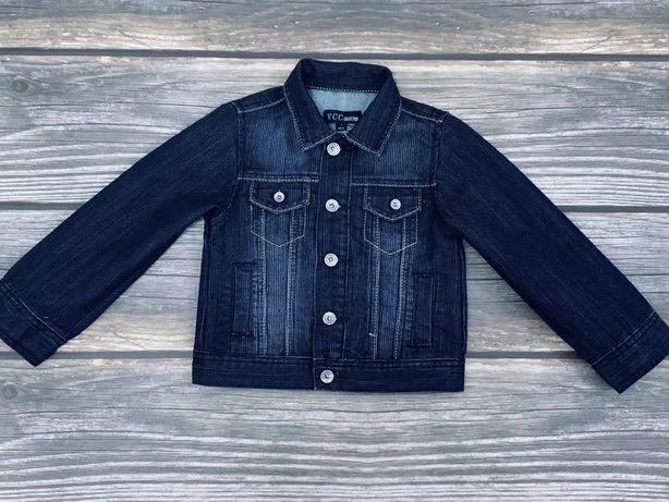 Джинсовый пиджак YCC, Z generation для мальчика 2г (86см)