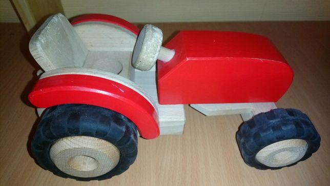 Игрушка Деревянный трактор Goki (б.у.)