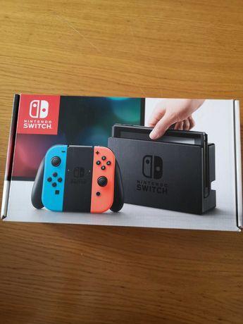 Nintendo Switch + 4 Jogos Físicos + acessórios