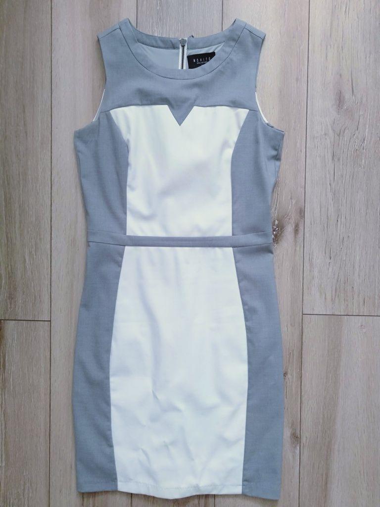 Nowa sukienka Mohito skóra ekoskóra 36 S