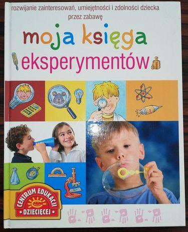Moja księga eksperymentów - książka dla dzieci