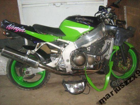 Kawasaki zx6r zawieszenie
