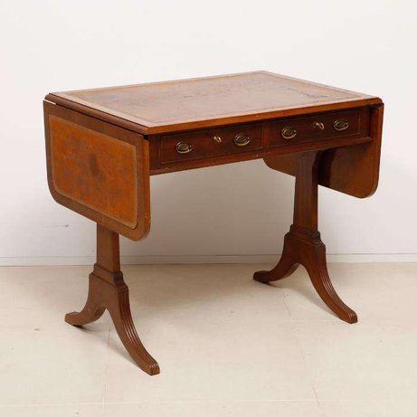 Mesa de abas antiga em madeira / sofá table