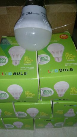 Энергосберегающая лампа лампочка Led 80% экономии.