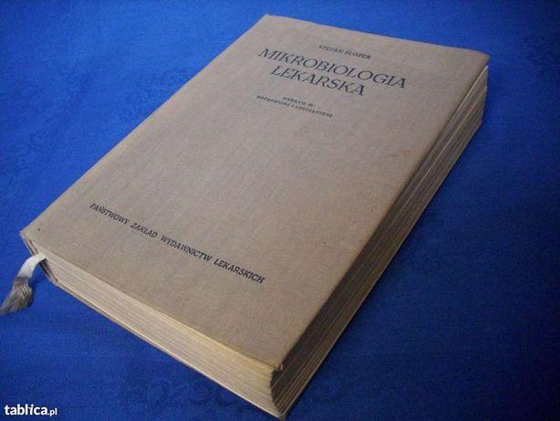 MIKROBIOLOGIA -- książka lekarska