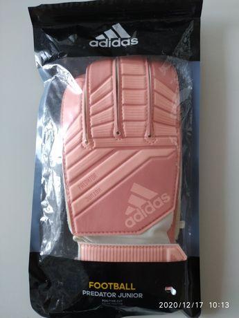 Adidas predator Junior rękawice bramkarskie rozmiar 5 dziewczynka
