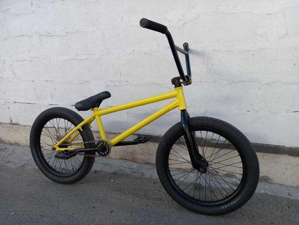 Трюковый велосипед bmx вмх бмх Cr-mo 4130 ,Втулки на болтах, 48 Шлицов