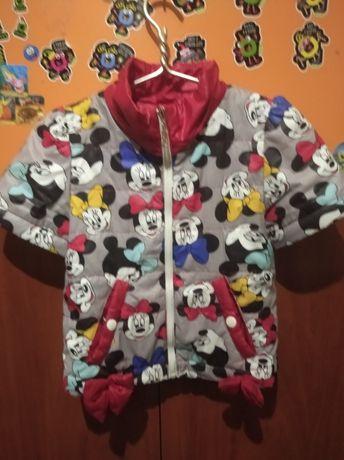 Куртка на дівчинку3 в 1