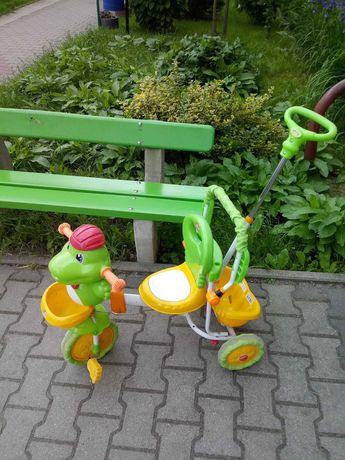 Wózek - rowerek dla dziecka z melodyjką