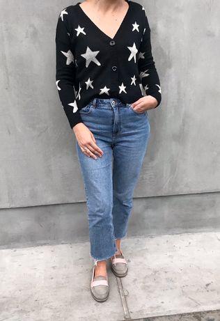 Красивый джемпер, свитер, кофта на пуговицах Issue