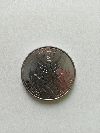 Монеты 10 гривен юбилейные 2018-2019