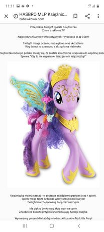 Hasbro kucyk pony Twilight Sparkle