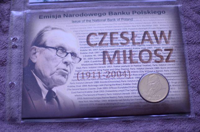 2zł Blister Czesław Miłosz
