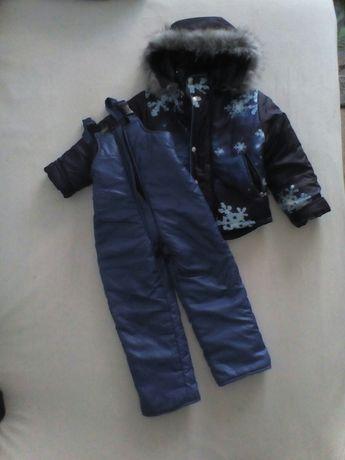 Kurtka i spodnie (owczej wełny)