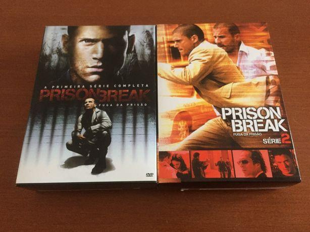 DVDs Série Prison Break - T1 e T2