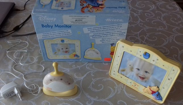 Disney Baby Monitor Ariete Elektroniczna Niania z ramką na zdjęcie