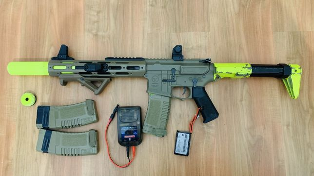M4 ARES AMOEBA - AM-013-DE - Airsoft - Com upgrades