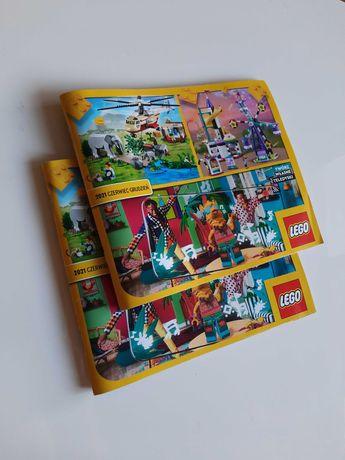NOWY katalog Lego 2021 czerwiec - grudzień klocki friends ninjago city