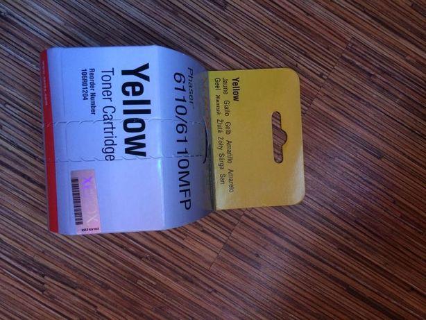 Toner Xerox yellow Phaser 6110 zolty