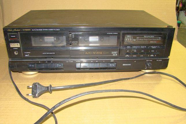 Дека-магнитофон Fisher CR-W914 двукассетник