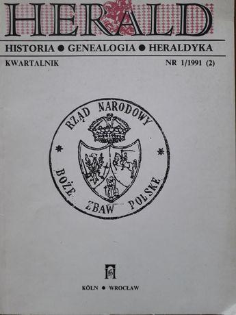 Herald 1/1991(2) Historia Genealogia Heraldyka