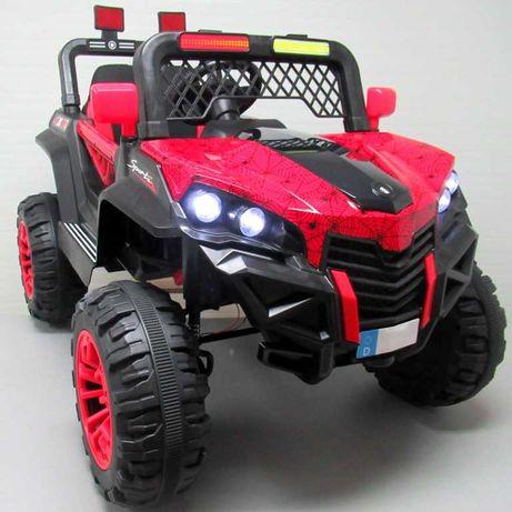 BuggyX7 4x4 ,miękki fotelik z ekoskóry, dziecięcy auto na akumulator