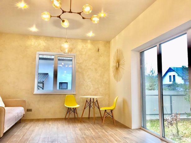 Продажа нового Дома с ремонтом и шикарным участком с березками !