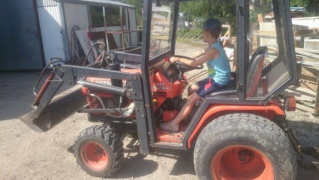 Traktorek kubota z turem