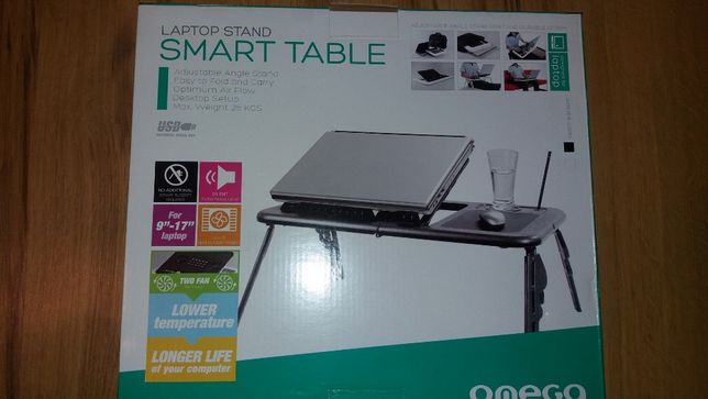 Podkładka podstawka chłodząca stolik Omega Smart Table NOWA