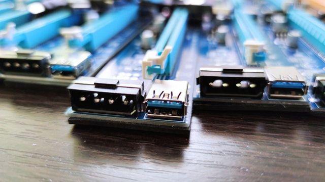 Райзер MOLEX для майнинга (riser/rizer) PCI-E 1x to 16x USB 3.0