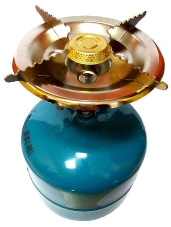 Butla butle gazowa 3kg + duża kuchenka turystyczna palnik propan
