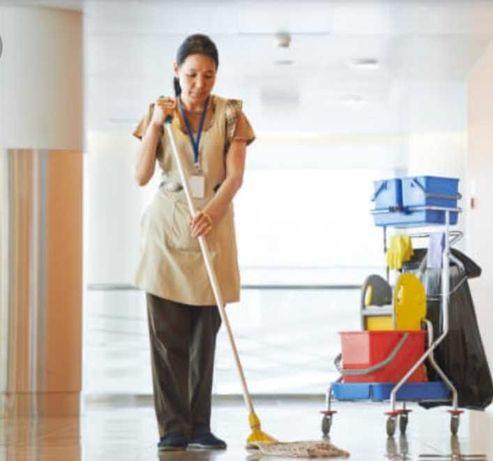 Serviços domésticos ao fim de semana