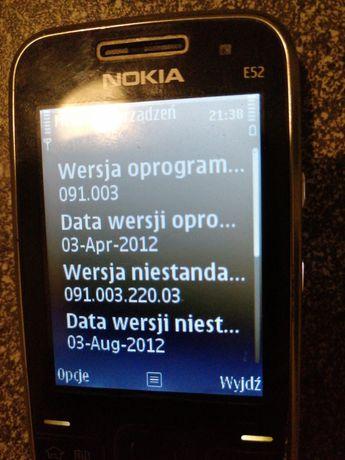 Nokia e52 czarna