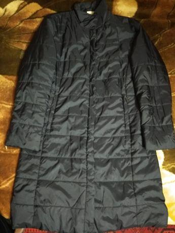 Куртка пальто длинная демисезонная весна- осень Casual L-XL