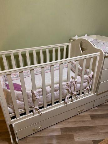 Дитяче ліжечко від 0 до 11 років
