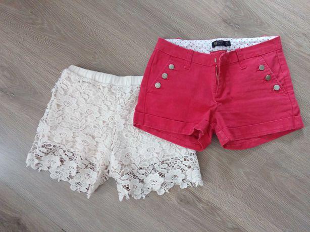 Spodenki krótkie, jeansowe, koronkowe, różne, Wyprzedaż