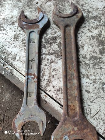 Ключи рожковые 55-50 41-46