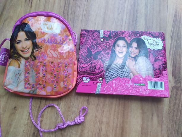 pamiętnik z gumką Violetta,